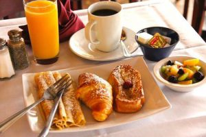 French Breakfast from Le Petit Bistro in La Jolla, CA