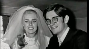 Dan & Betty Broderick on their wedding day.