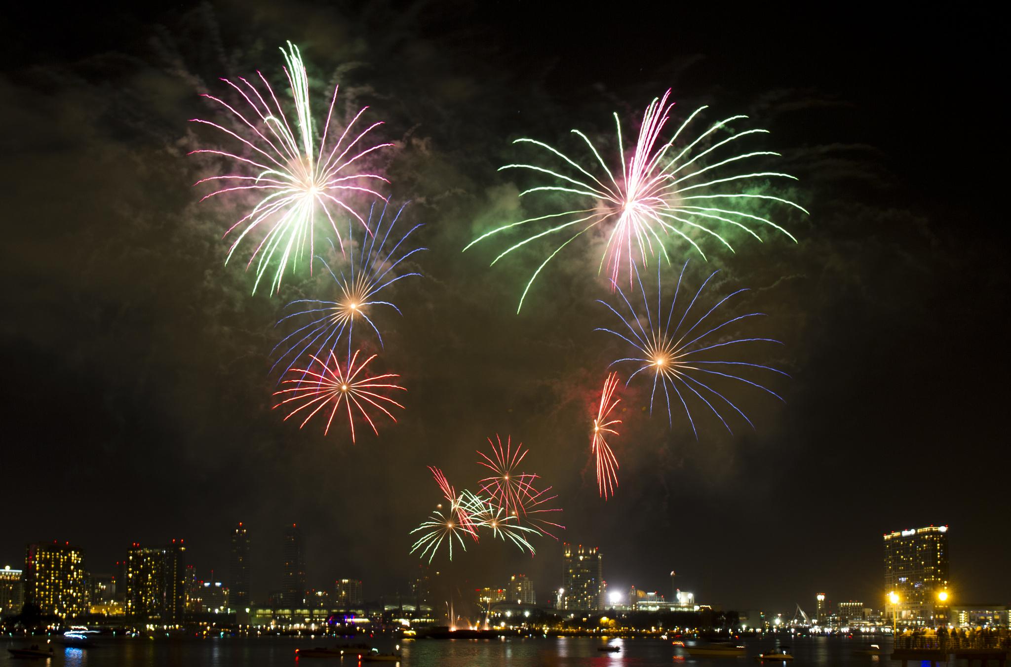 fireworks san diego la jolla