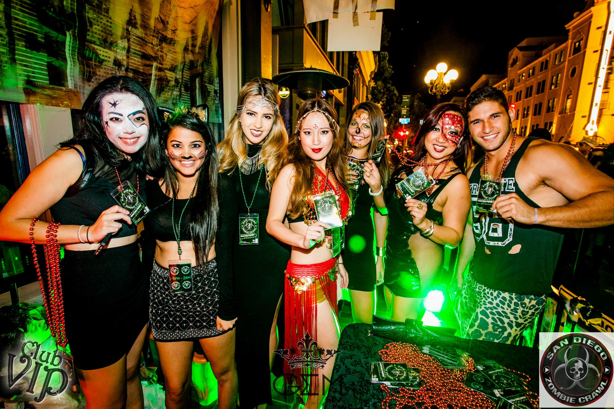 your guide to the best halloween parties in san diego