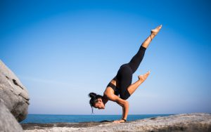 Stay healthy doing yoga
