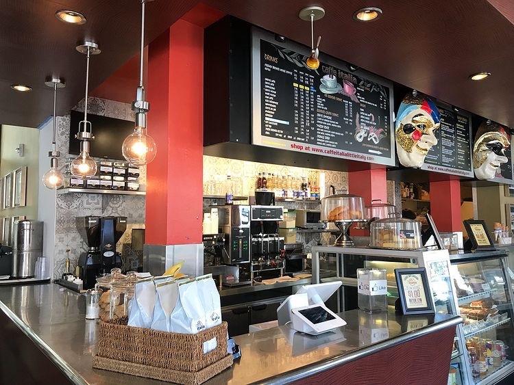 Caffe Italia in Little Italy