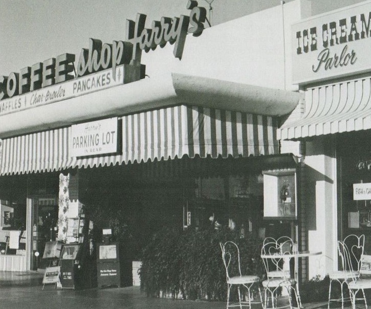 Harry's Coffee Shop in La Jolla