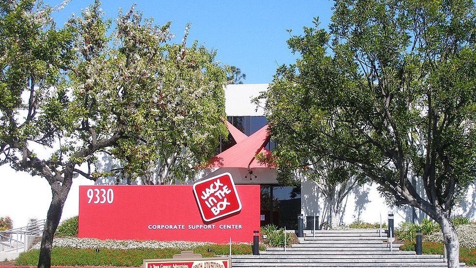 San Diego headquarters of Jack In the Box, a publicly traded company