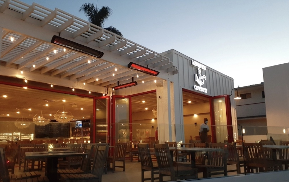The Mermaids and Cowboys restaurant in La Jolla