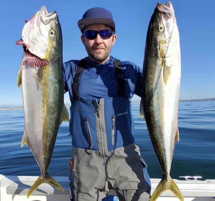 Yellowtail fishing in La Jolla