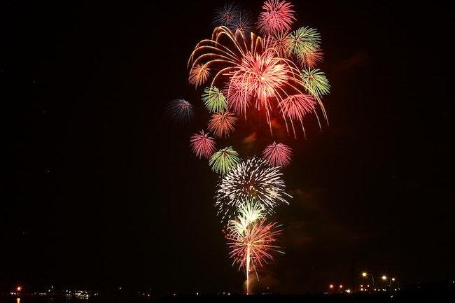Fireworks in La Jolla