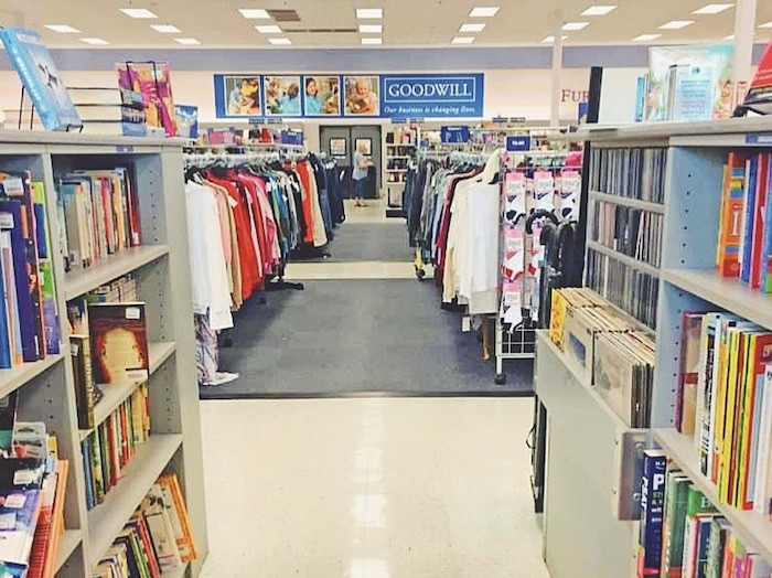 A Goodwill thrift store in San Diego