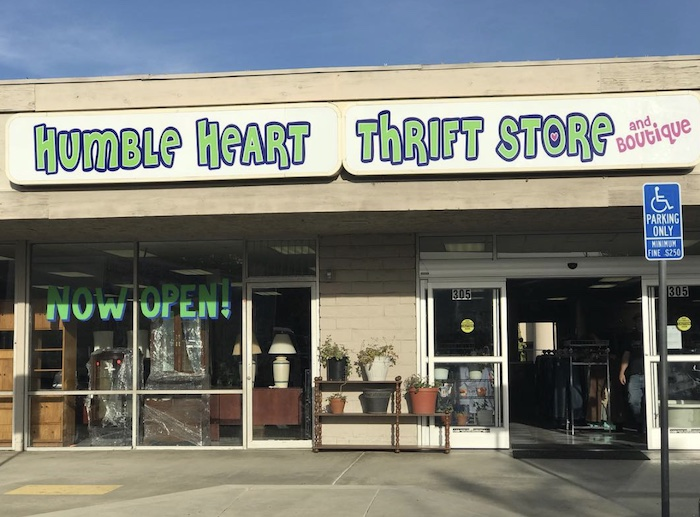 Humble Heart Thrift Store in San Diego