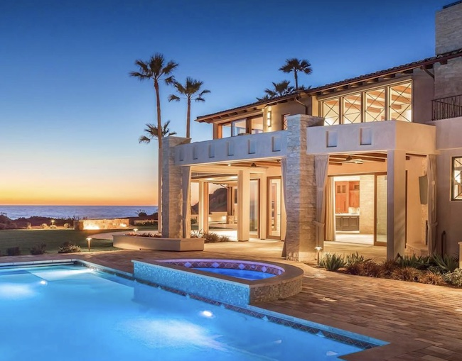 Mediterranean-style home in San Diego
