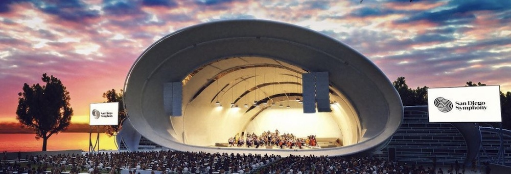 The Shell venue for the San Diego Symphony