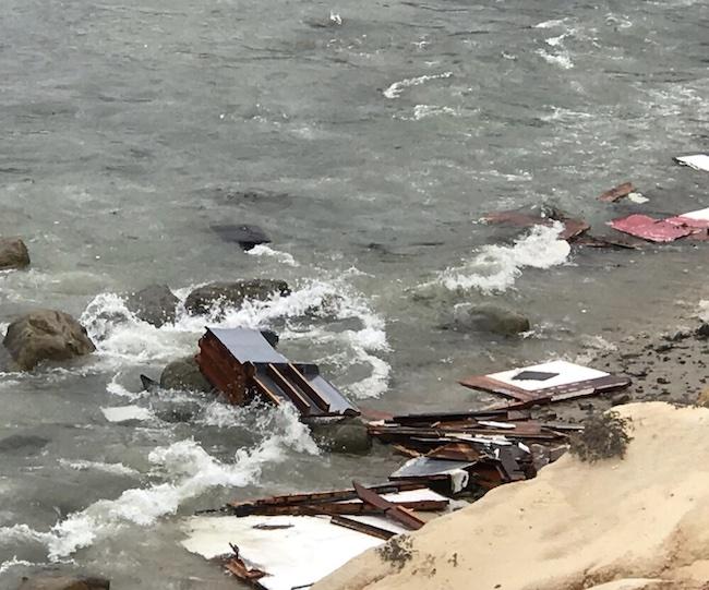 Smuggler boat capsize in Point Loma