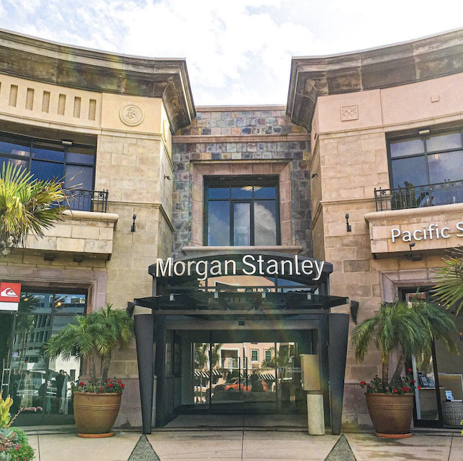 Sotheby's Plaza on Prospect St. in La Jolla Village