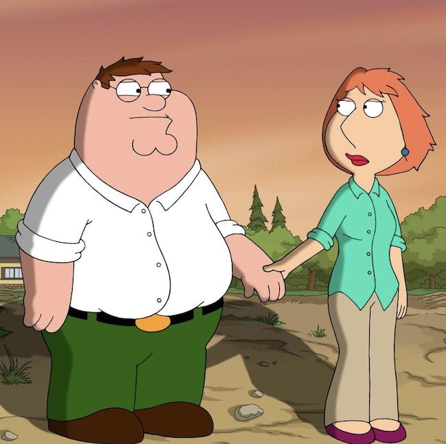 Family Guy cartoon