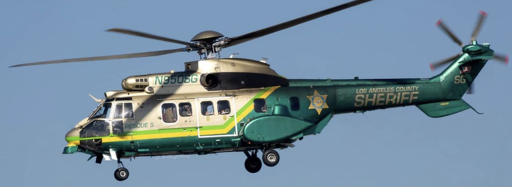 Los Angeles Sheriff Helicopter