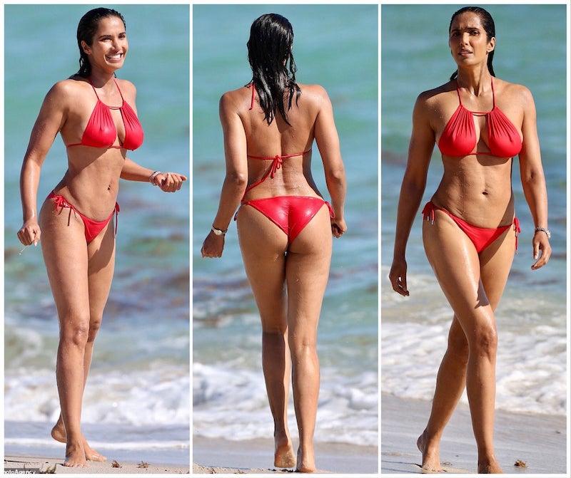 Tulsi Gabbard in a bikini