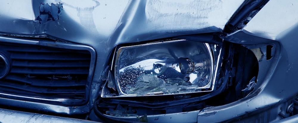 Car accident in La Jolla