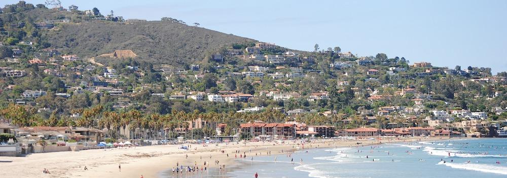 A view of real estate in La Jolla